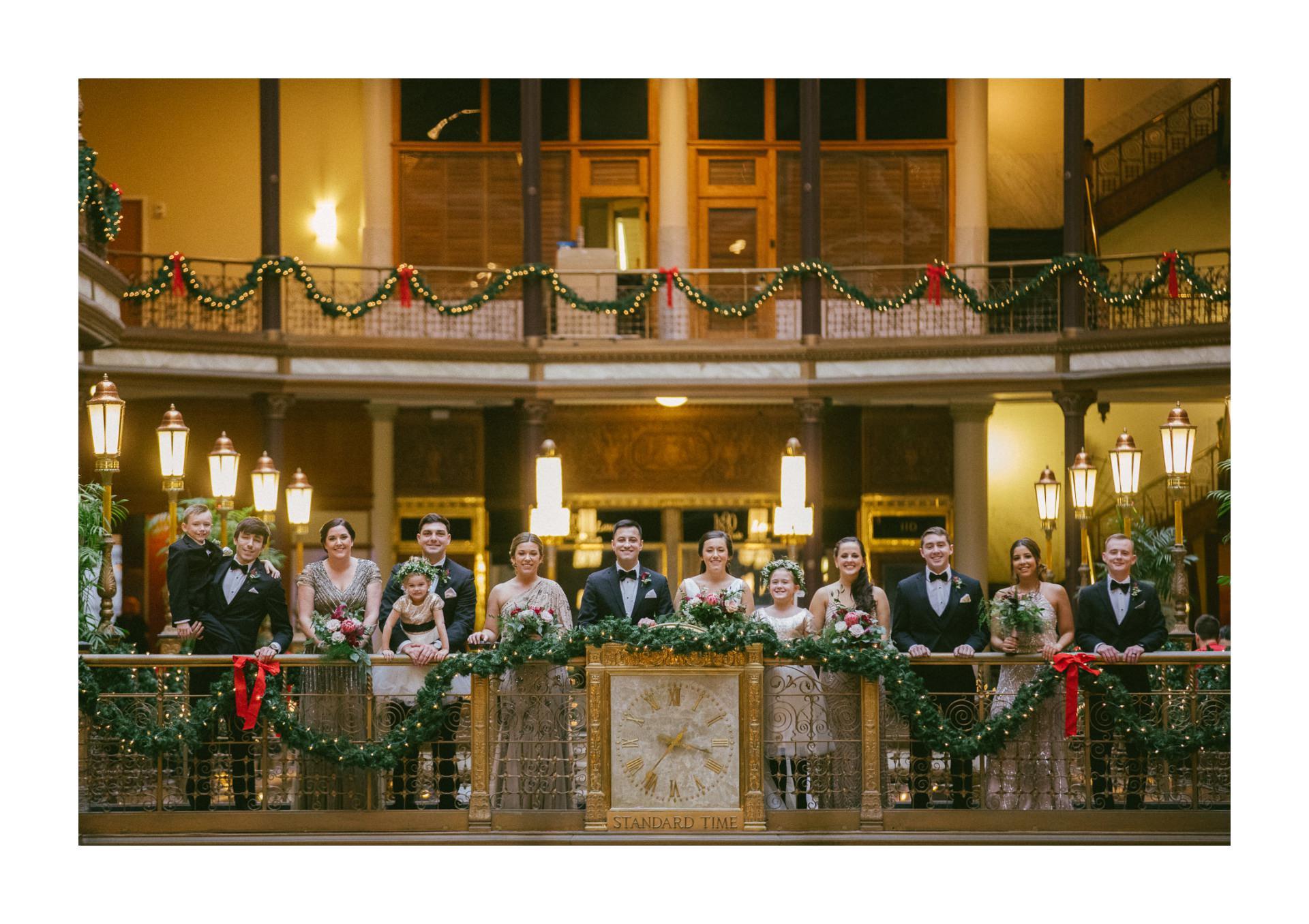Hyatt Old Arcade Wedding Photographer in Cleveland 1 29.jpg