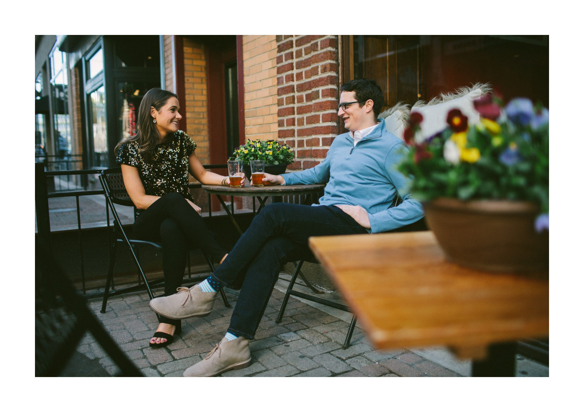 Cleveland Engagement Session on East Fourth 4.jpg