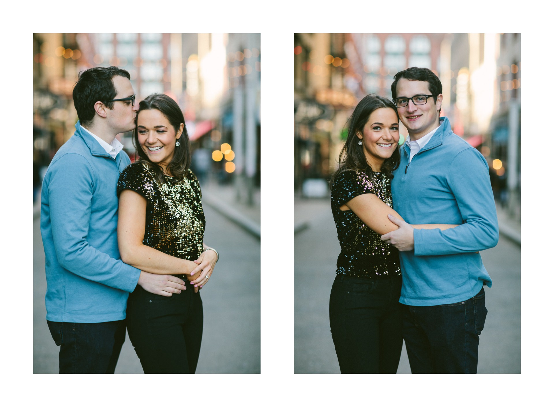 Cleveland Engagement Session on East Fourth 6.jpg