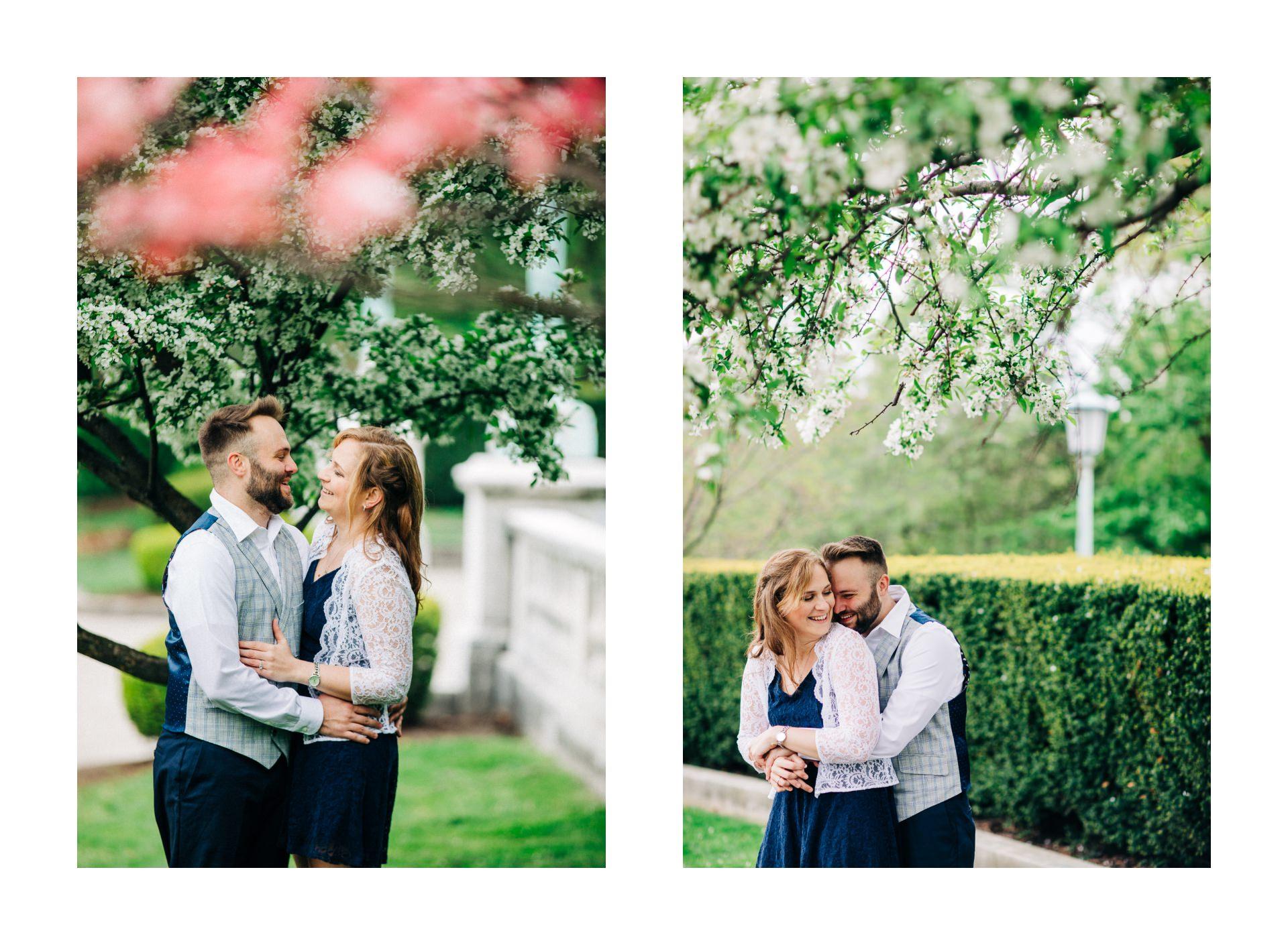 Cleveland Spring Cherry Blossom Engagement Session 7.jpg