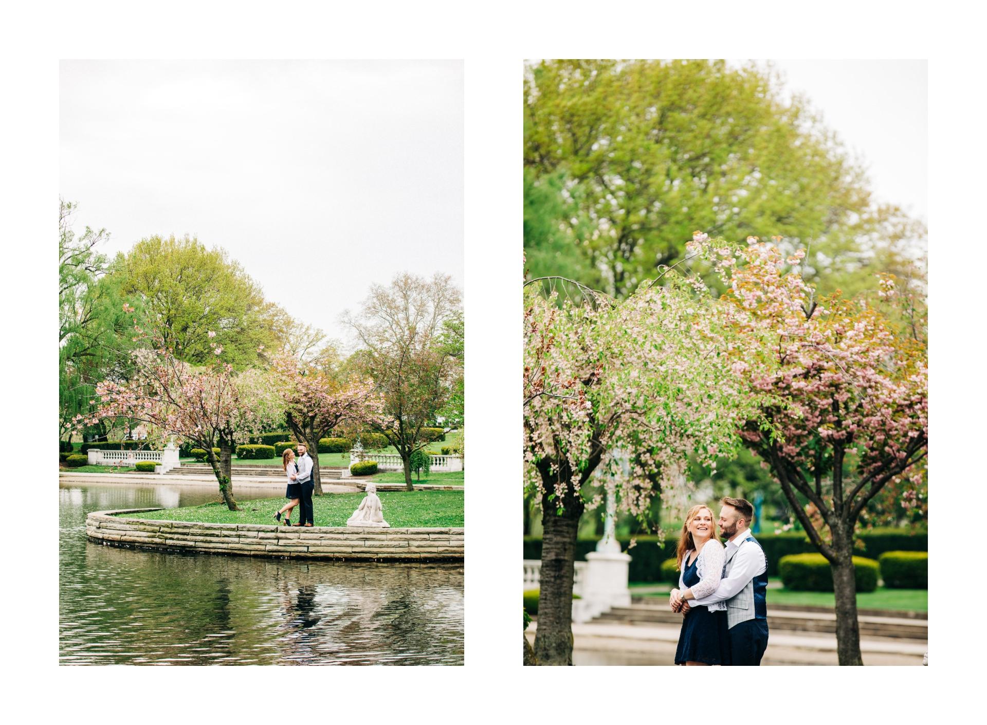 Cleveland Spring Cherry Blossom Engagement Session 9.jpg