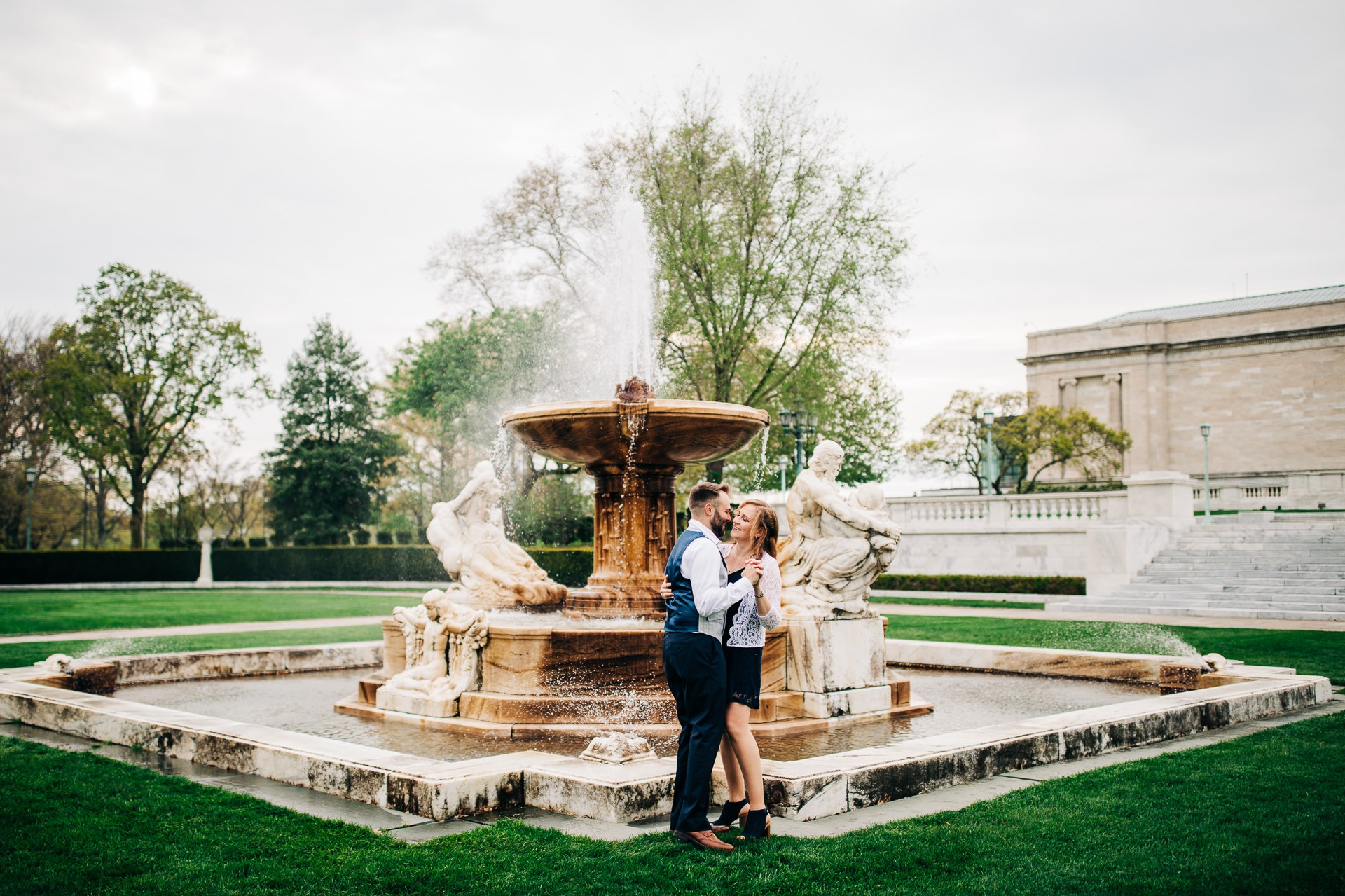 Cleveland Spring Cherry Blossom Engagement Session 11.jpg
