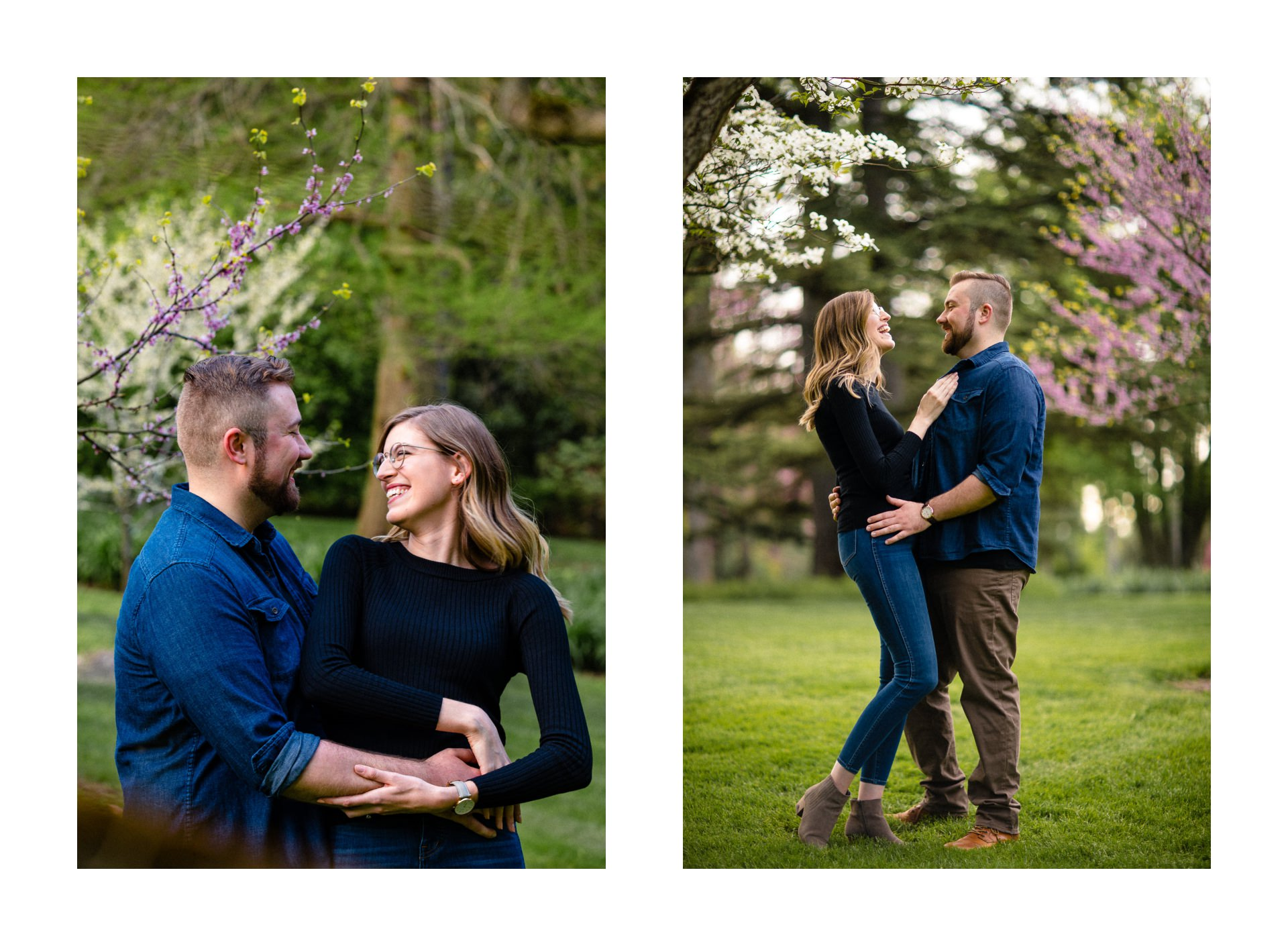 Spring Cleveland Botanical Gardens Engagement Photos 3.jpg