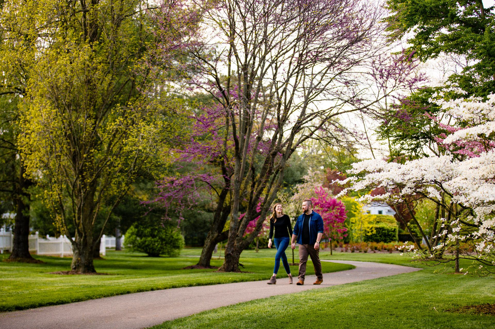 Spring Cleveland Botanical Gardens Engagement Photos 1.jpg