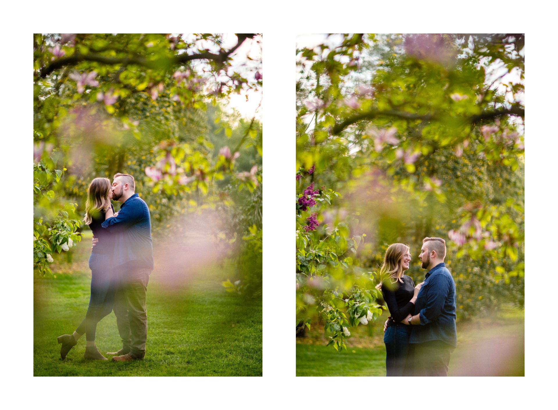 Spring Cleveland Botanical Gardens Engagement Photos 12.jpg