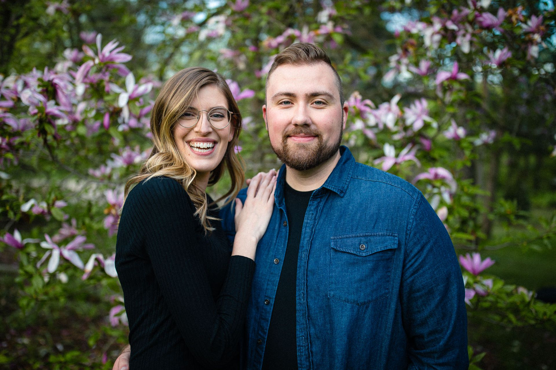 Spring Cleveland Botanical Gardens Engagement Photos 13.jpg