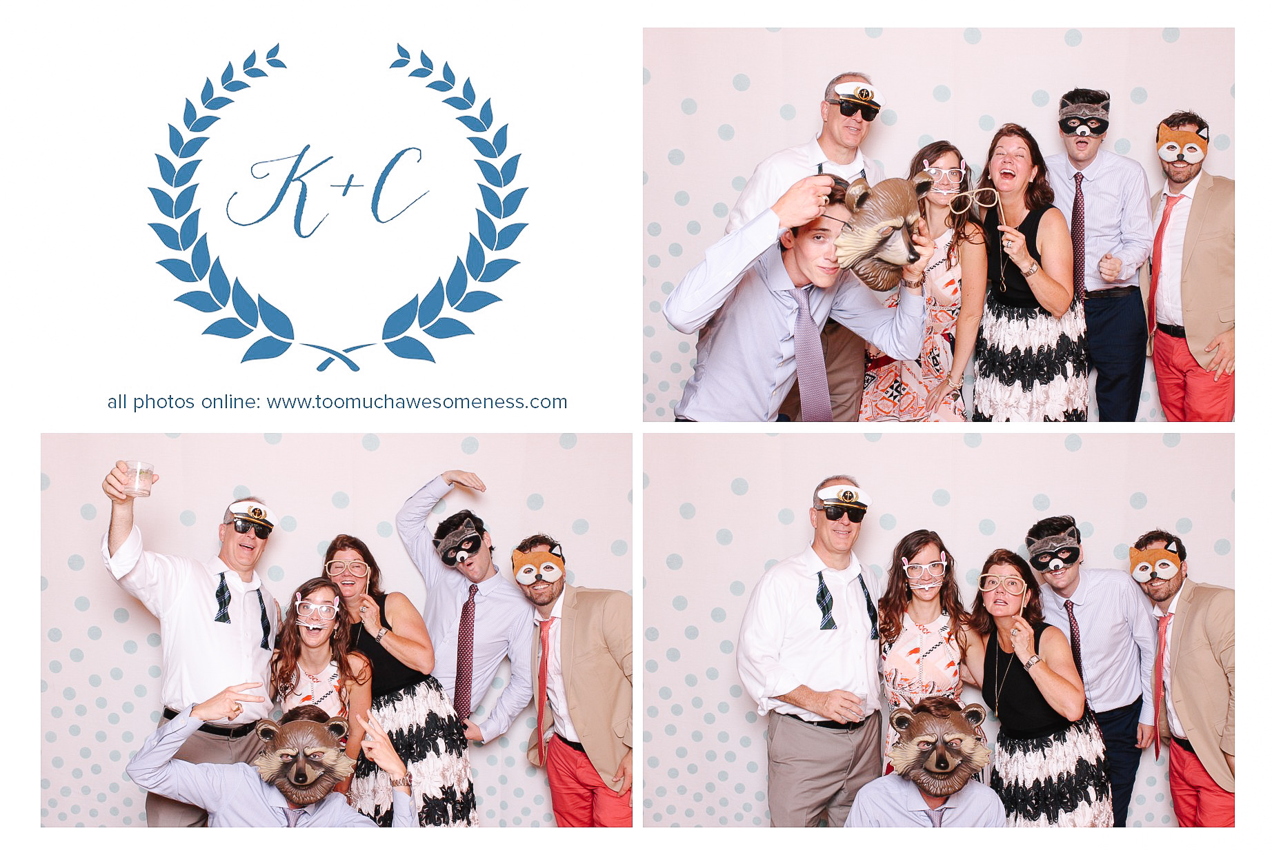 0132 Cleveland Wedding Photobooth too much awesomeness.jpg