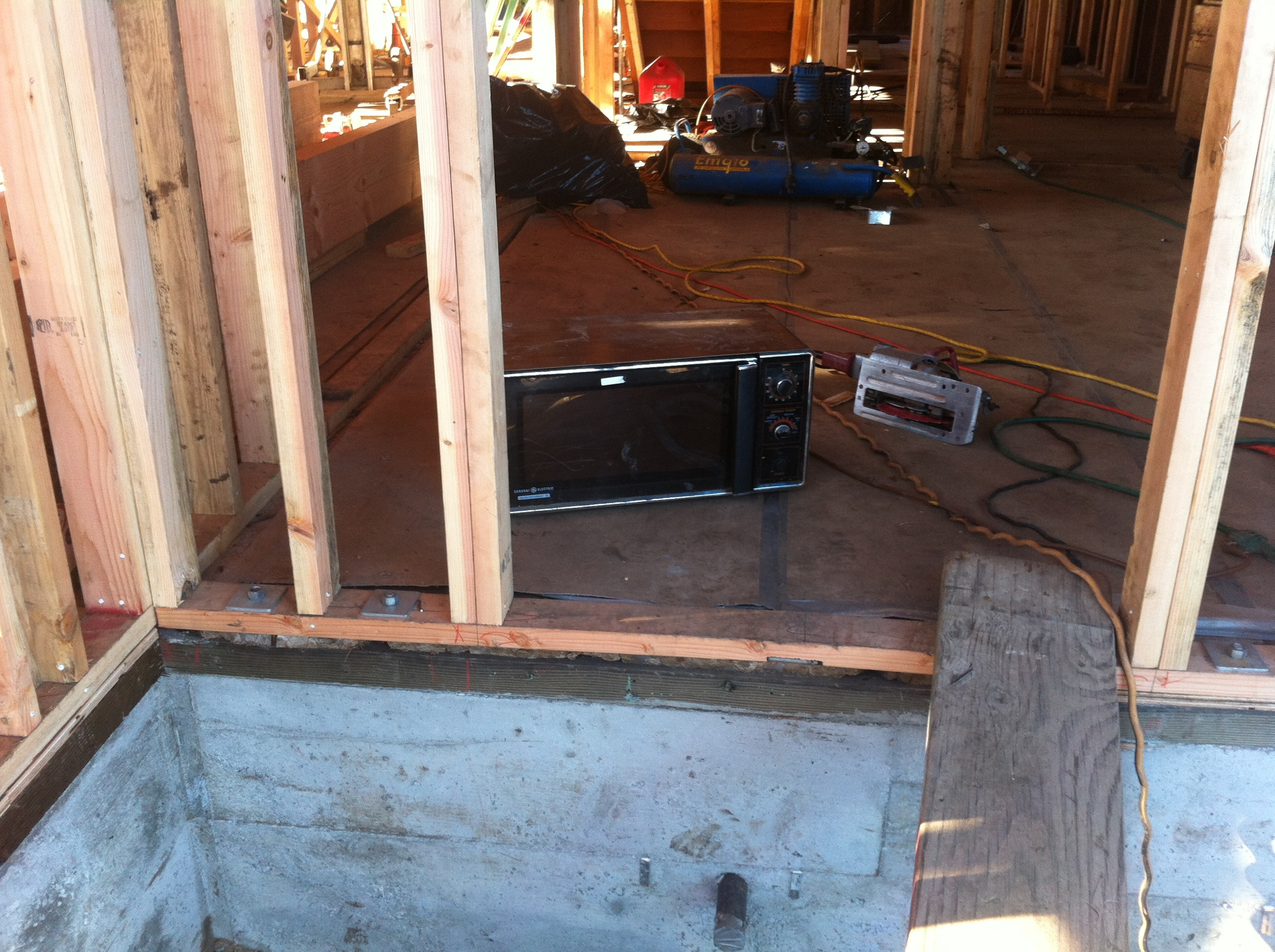 Microwaves are required job site equipment