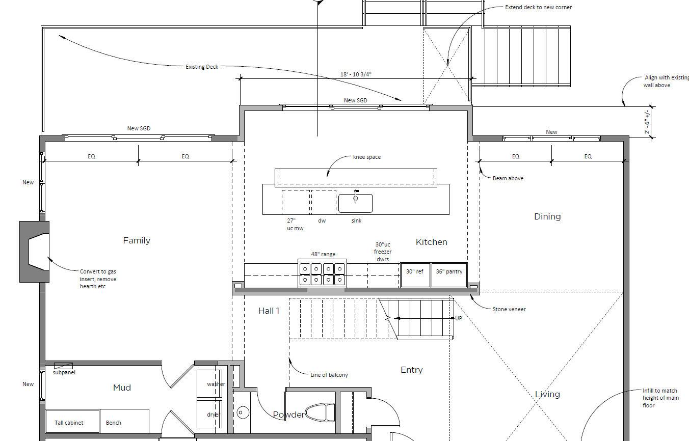 Design Development floor plan.