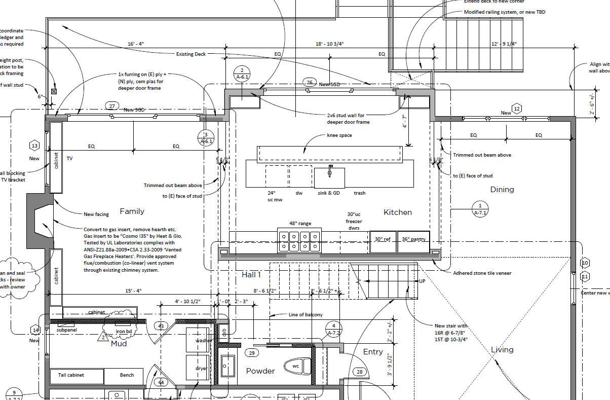 Construction Documents floor plan.