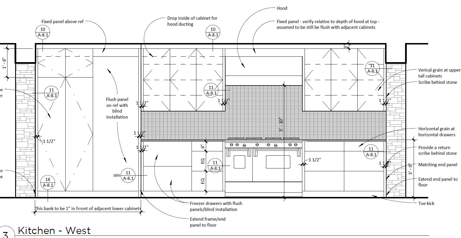 Kitchen Interior Elevation