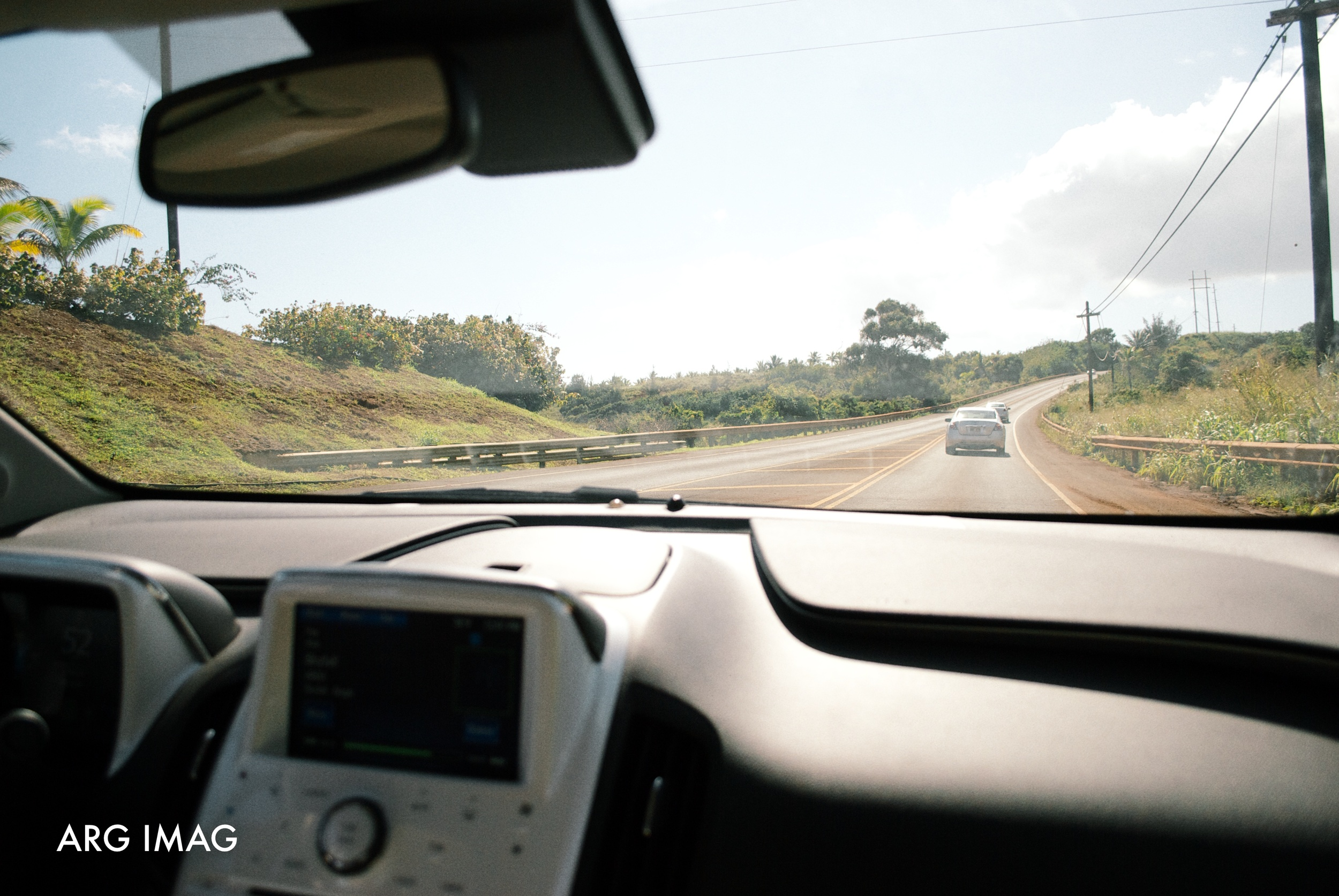 12:00pm  - There is only one main road on the island of Kauai, which makes travel to all the towns a long journey.