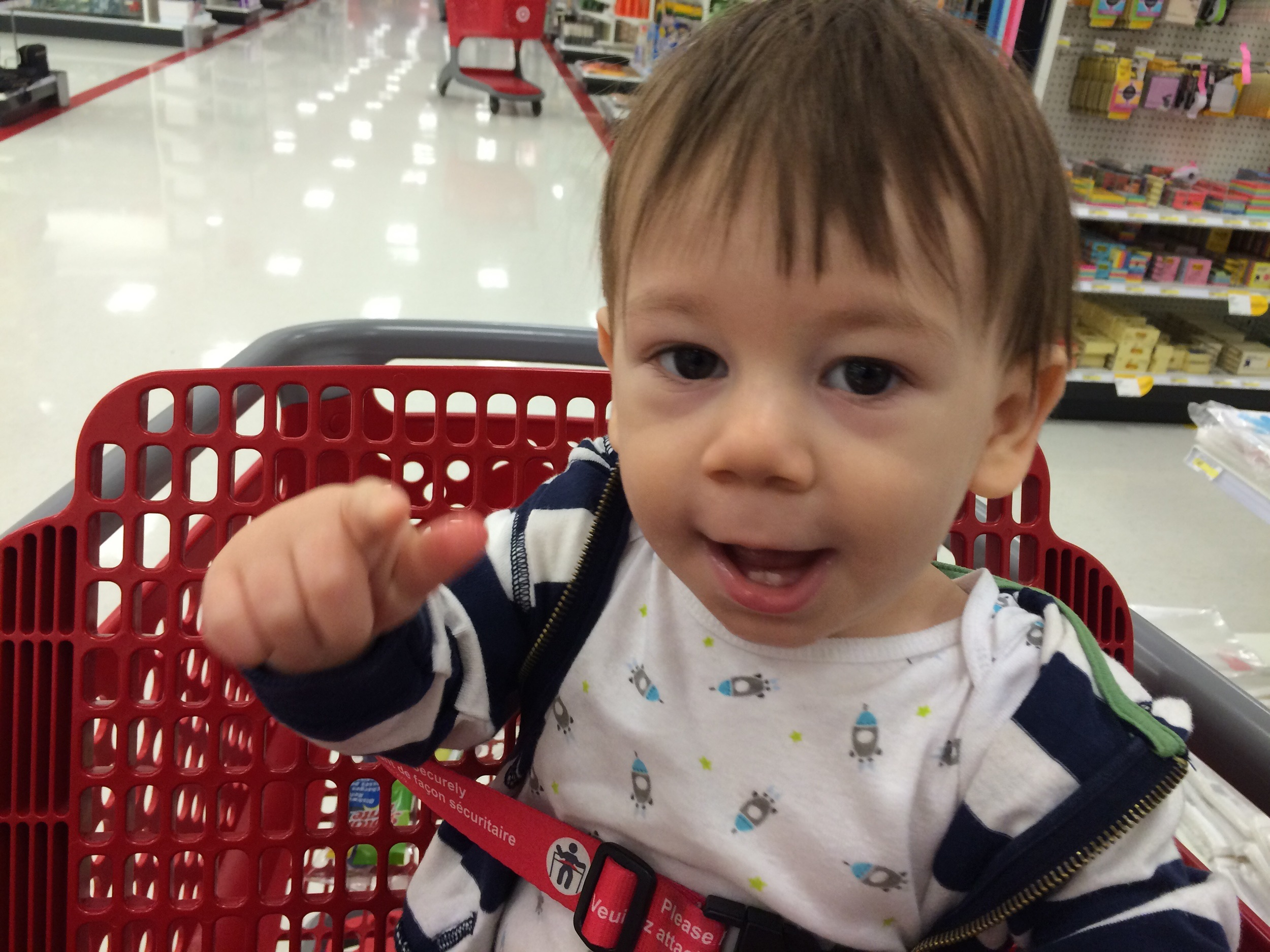 Oliver in Target