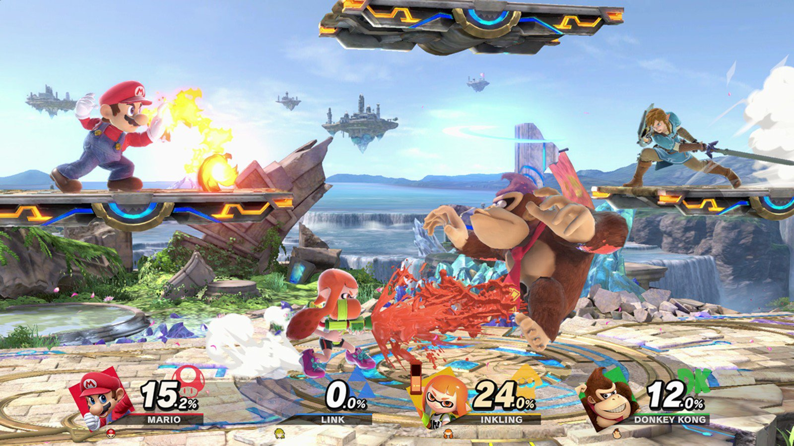 Super Smash Bros. Ultimate for the Nintendo Switch.