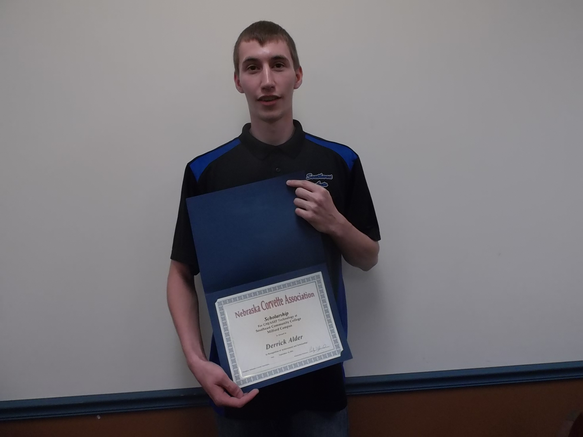 Derrick Alder from Lincoln, NE is sponsored in ASEP by Southwest Auto in Lincoln, NE