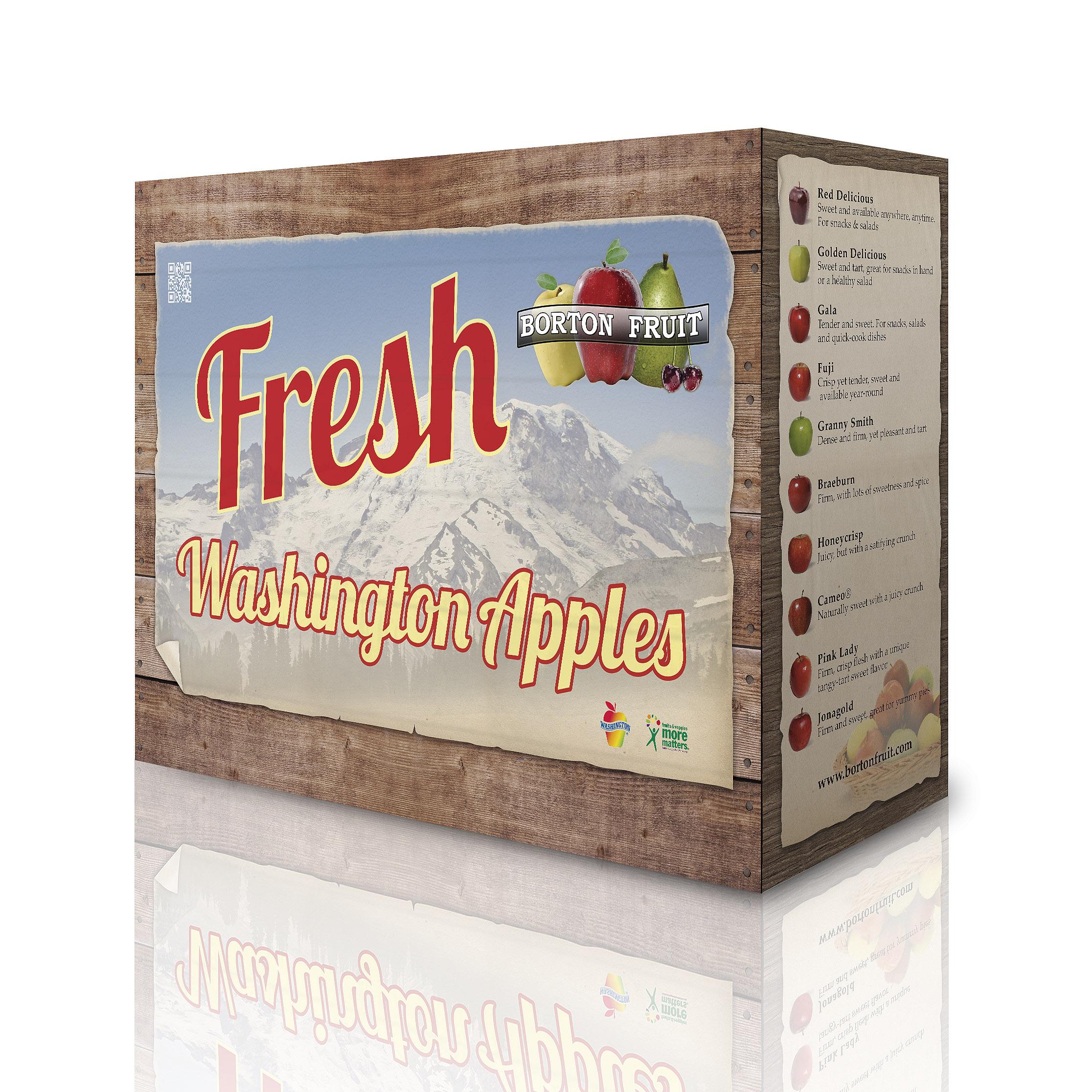 Apple Packaging - 4 Box Display Sleeve