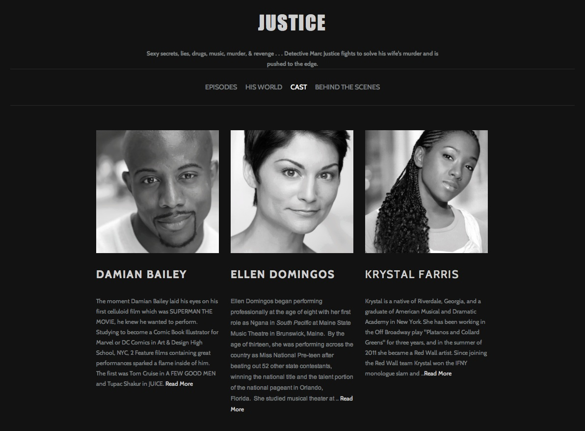Justice The Series Website