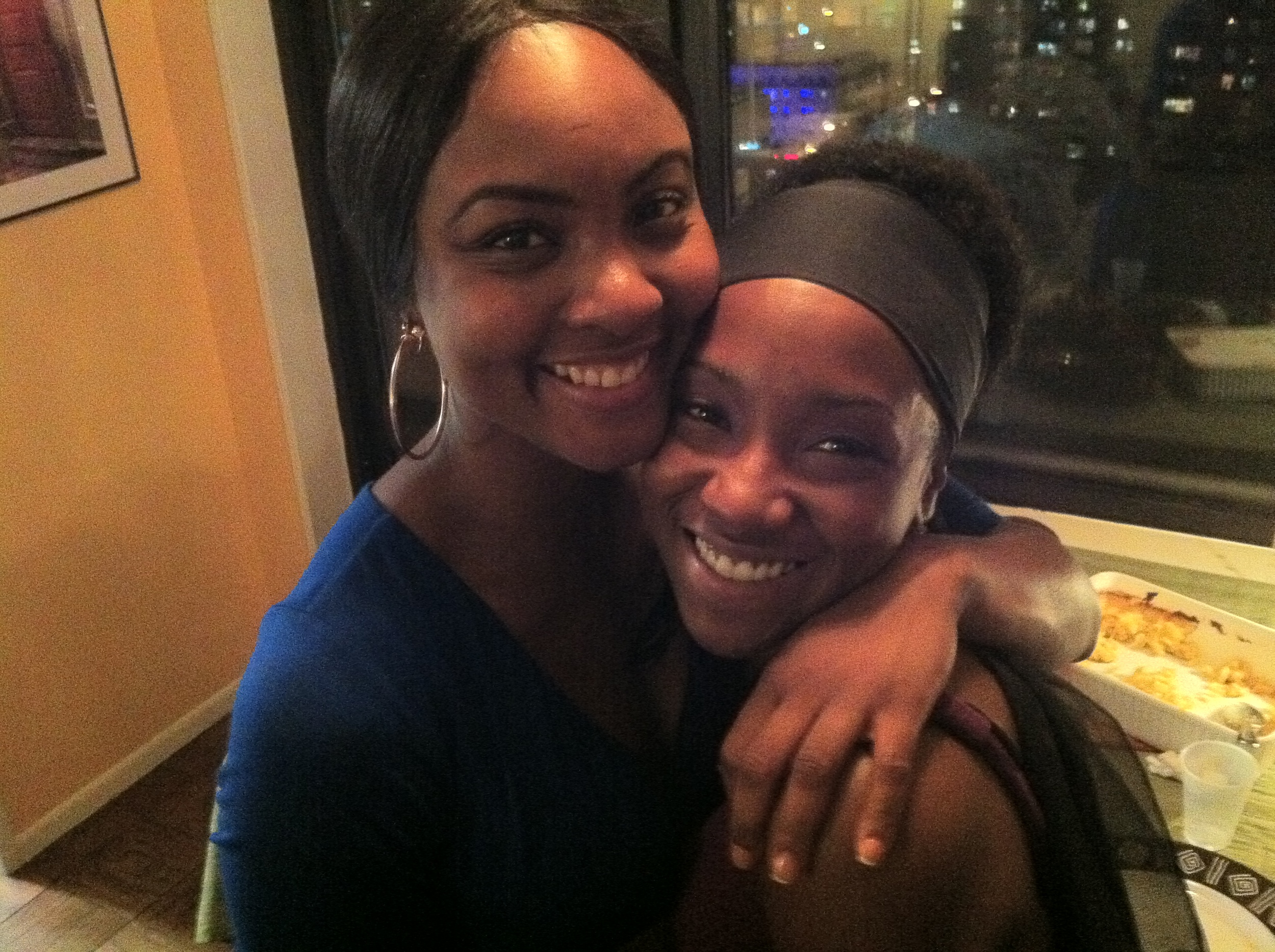 Osas Ighodaro, Krystal Blake at Red Wall Productions Networking Event