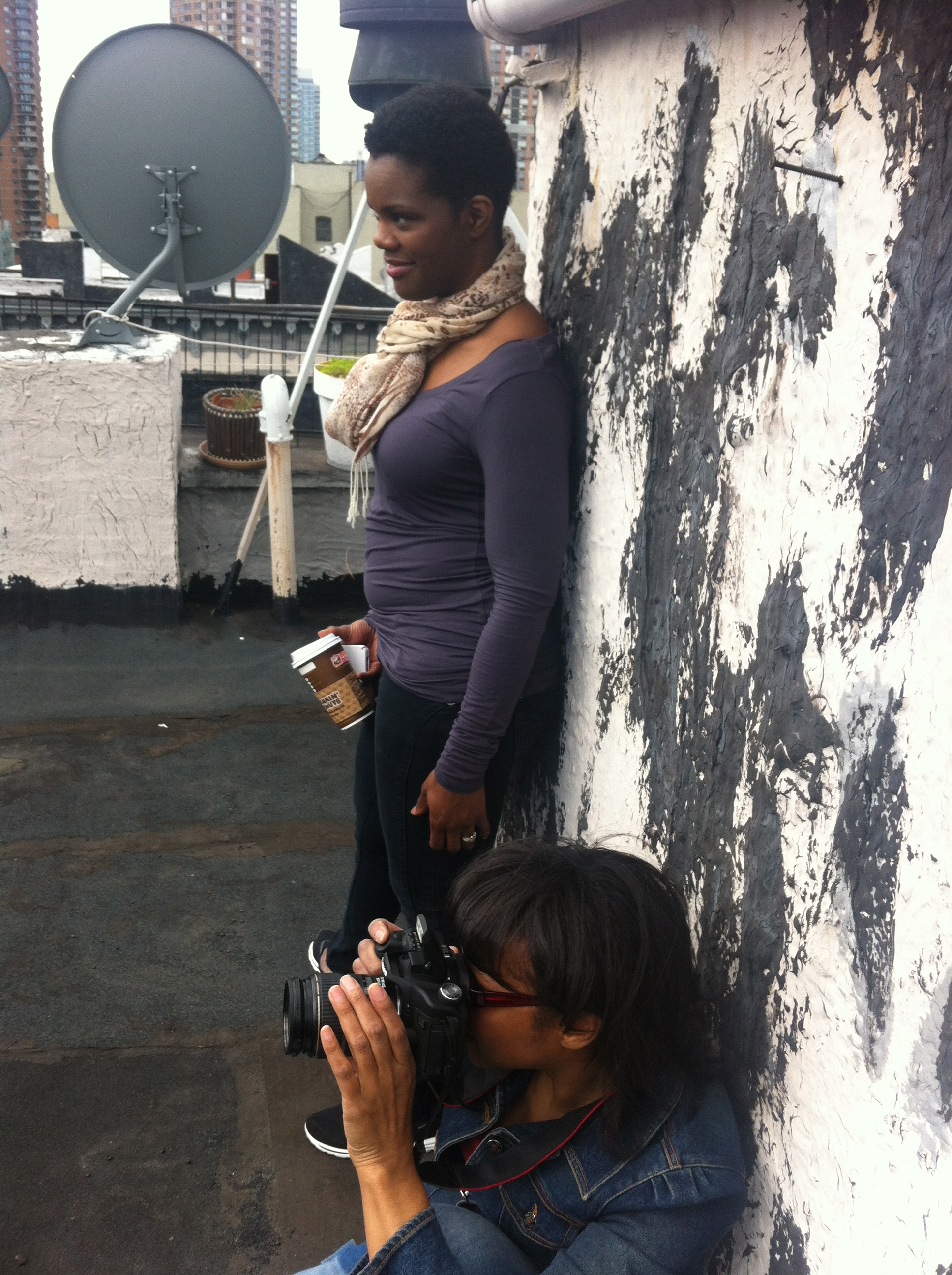 "Roz, Photographer Crystal Blake ""Justice"" photo shoot"