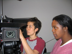 Cinematographer Nara Garber and Roz