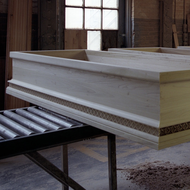 Casket Factory Tour