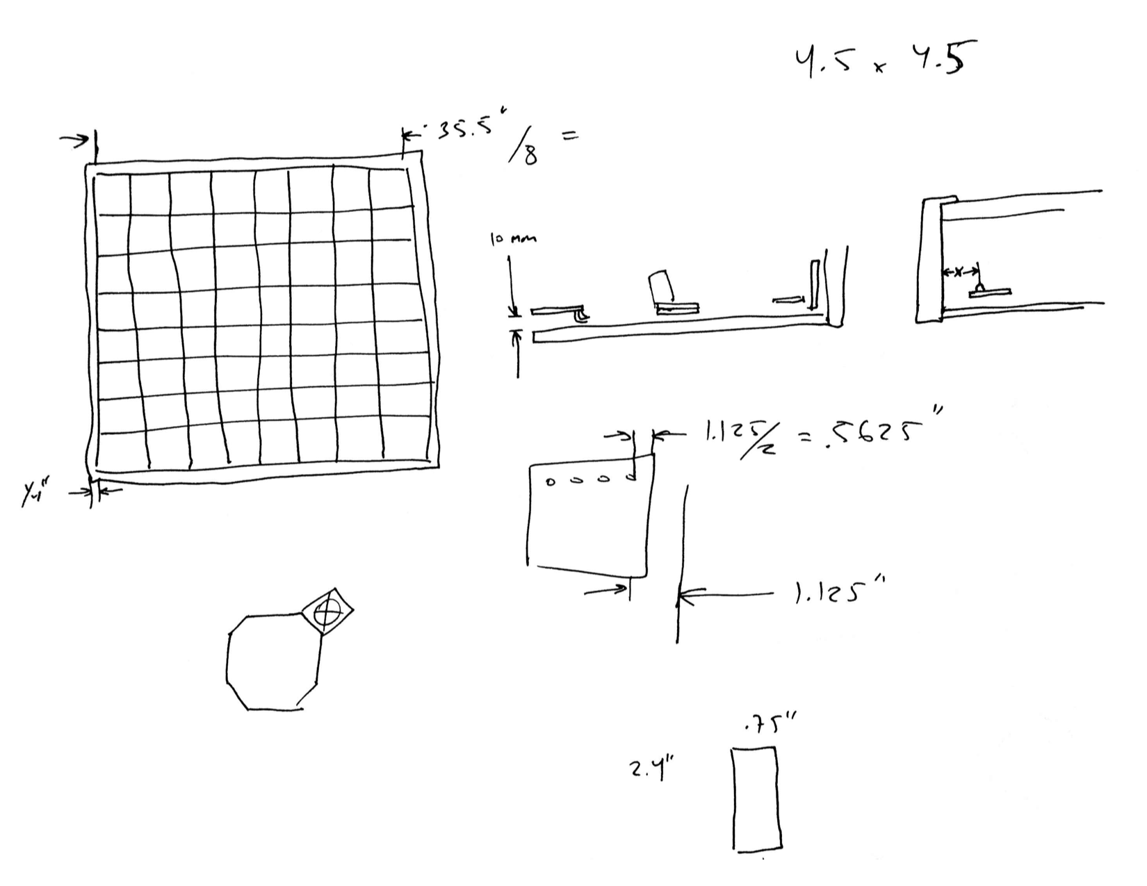 A sketch of potential assembly