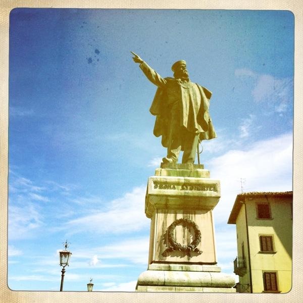 Garibaldi in Piazza Grande