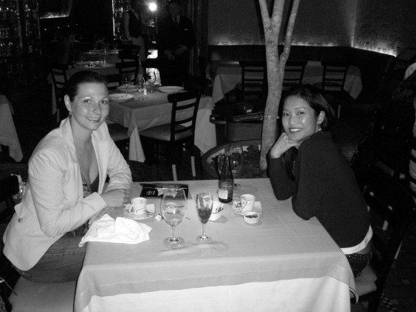 Daniela & Shindy at Giuseppe Restaurant, Leblon