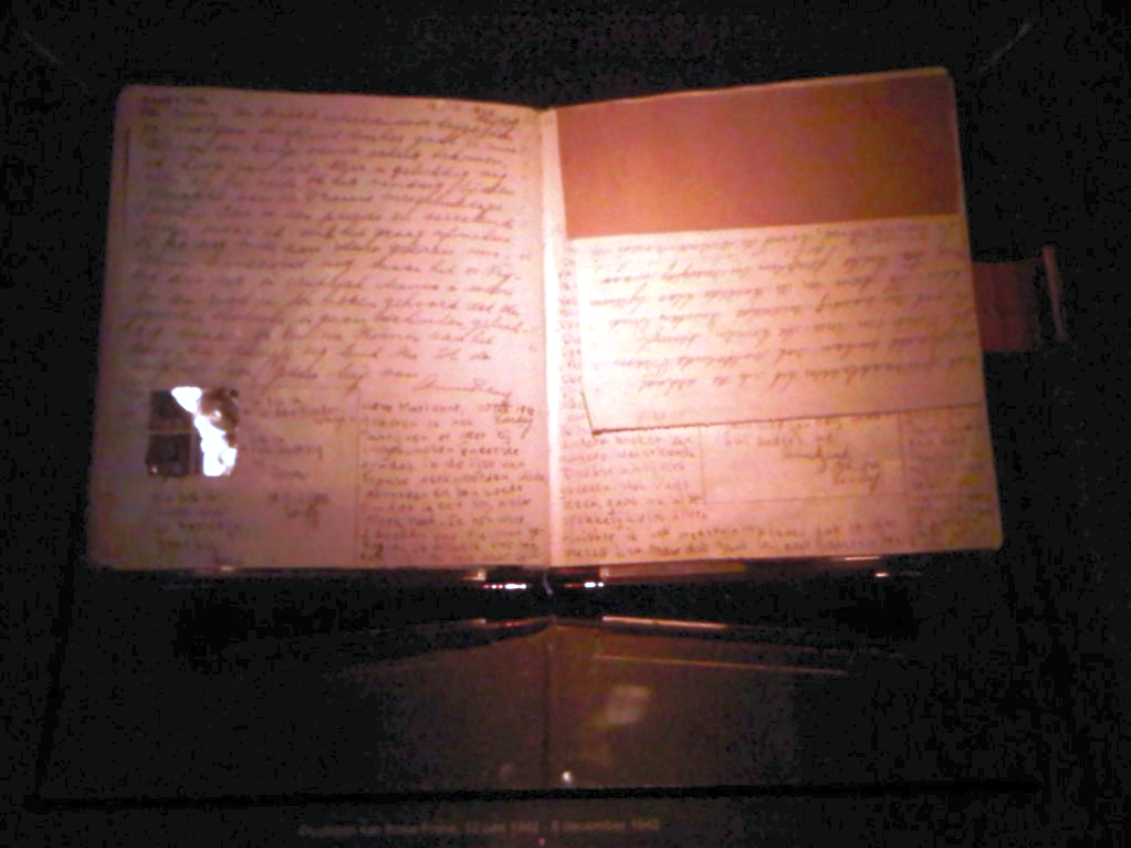 Diary of Anne Frank, at the Anne Frank Huis Museum