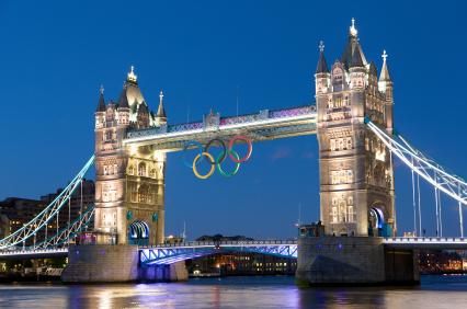 2012 Olympics baby!  Tower Bridge by night