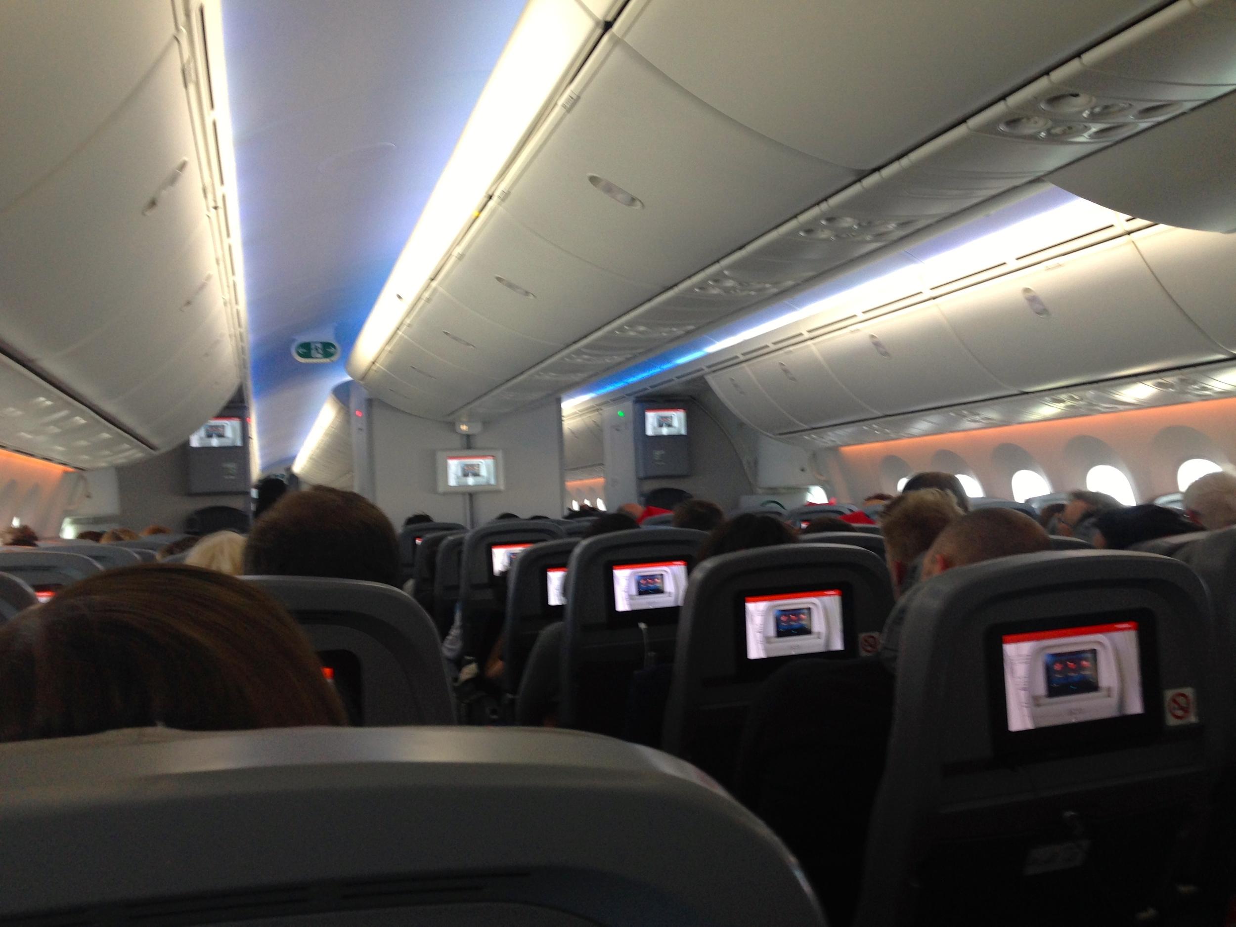 NA Economy cabin