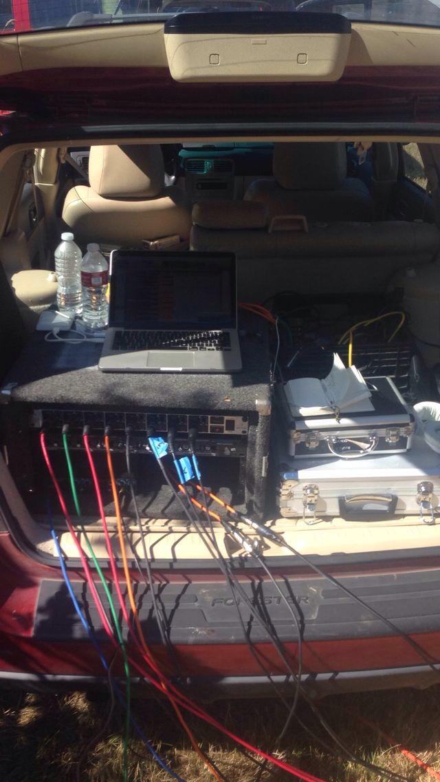 The mobile setup!