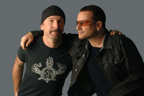 The Edge and Bono
