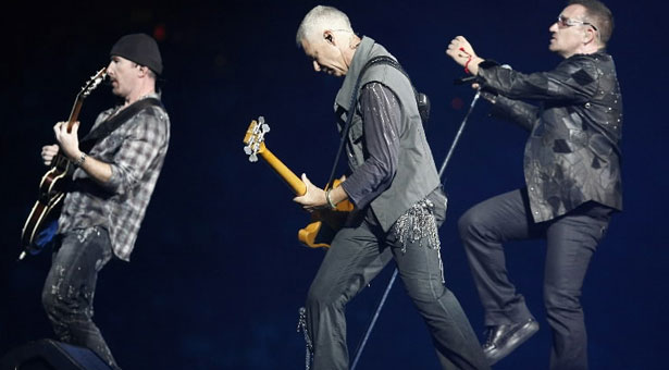 The Edge, Adam, Bono