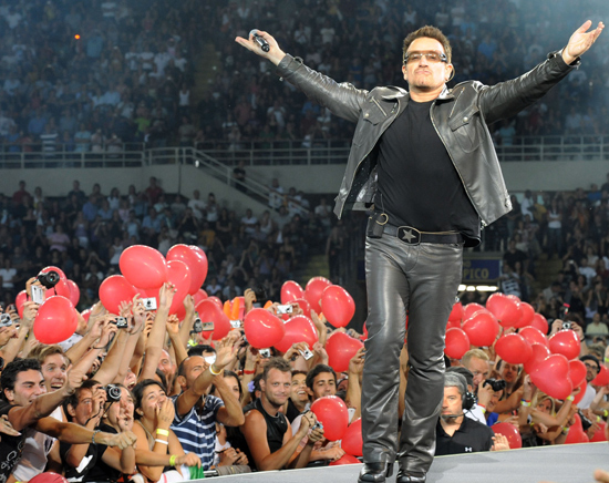 Bono/ U2TOURFANS