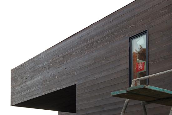 orange county contemporary construction + cedar siding