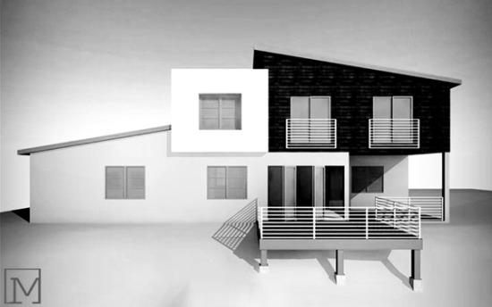 fullerton modern house | design rendering
