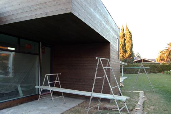 Modern cedar siding design, orange county