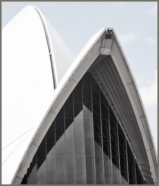 opera house / sail detail