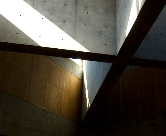 light + form at Phillips Exeter Library by Louis Kahn