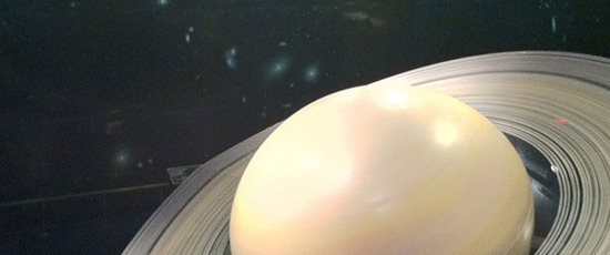 inside the 'Depths of Space' exhibit