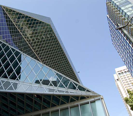 seattle central library / exterior