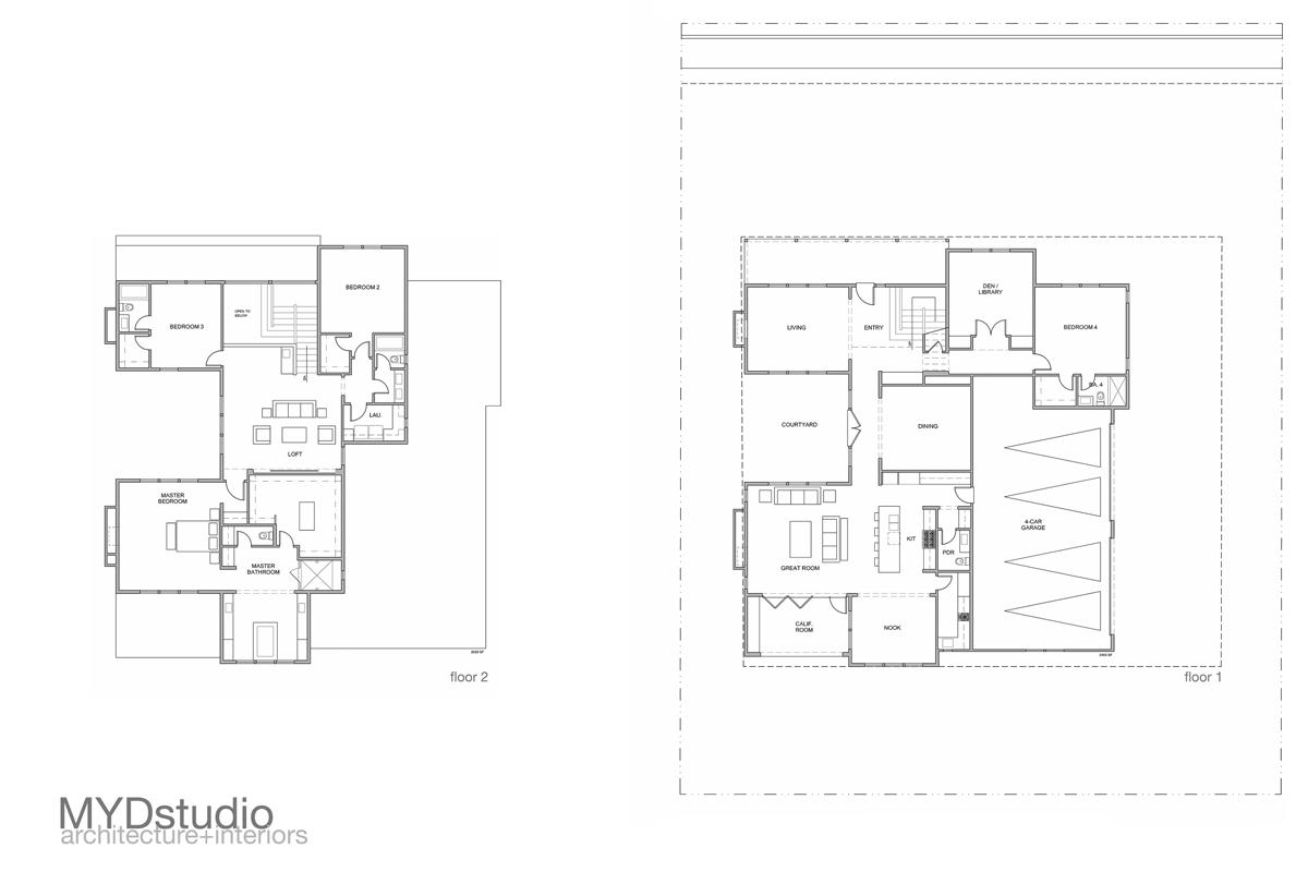 floor plans | new residential construction in yorba linda, california