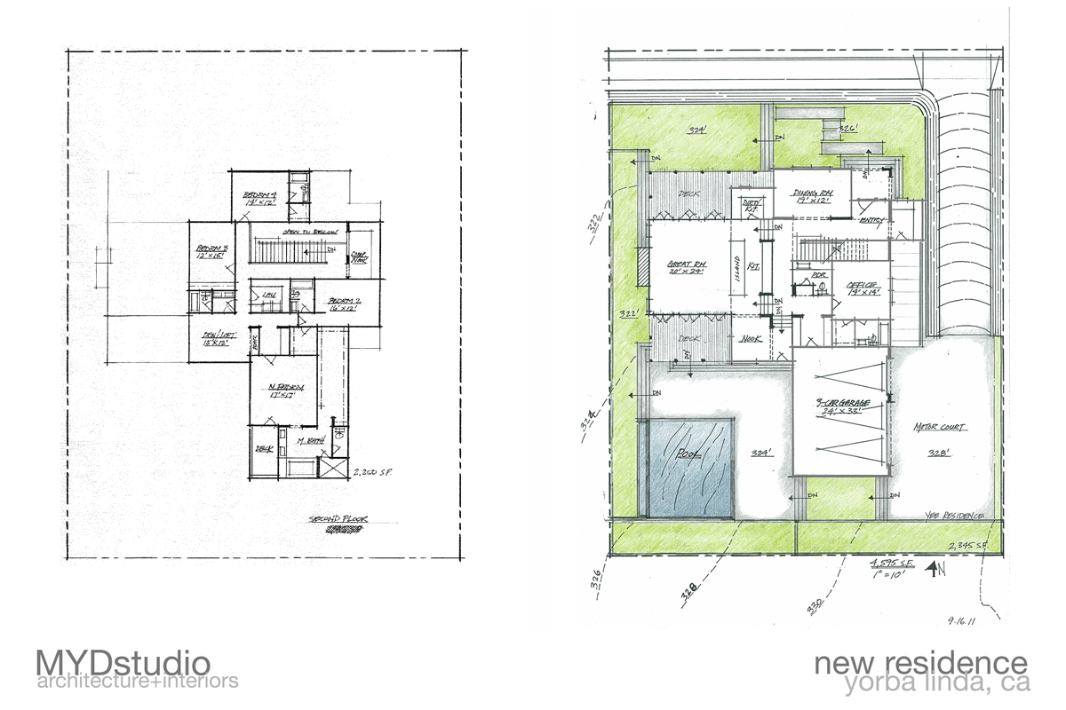 custom home floor plans | orange county, california