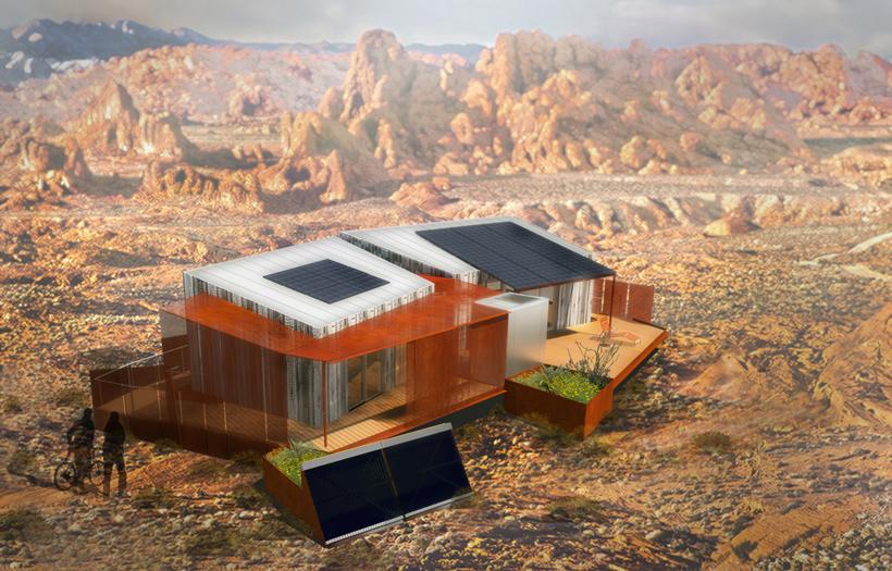 DesertSol House    University of Nevada Las Vegas