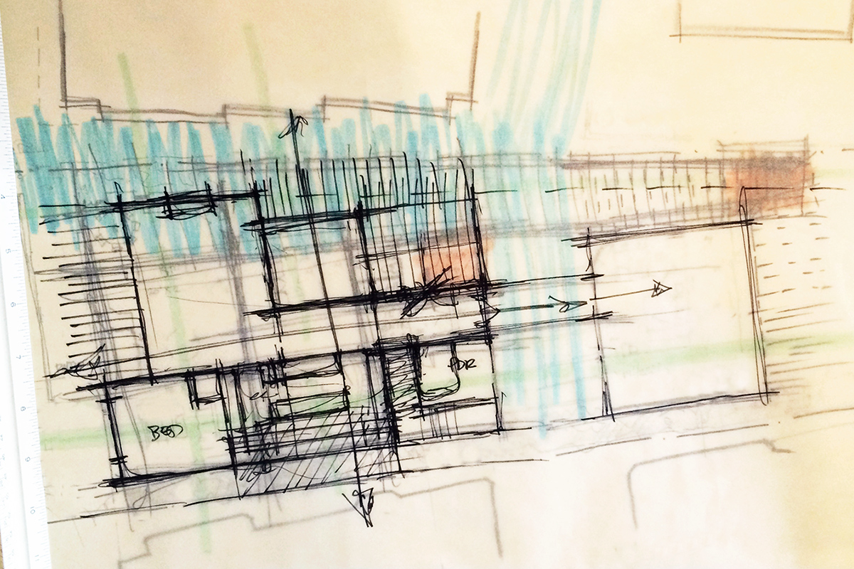 Laguna Beach |  building form + massing