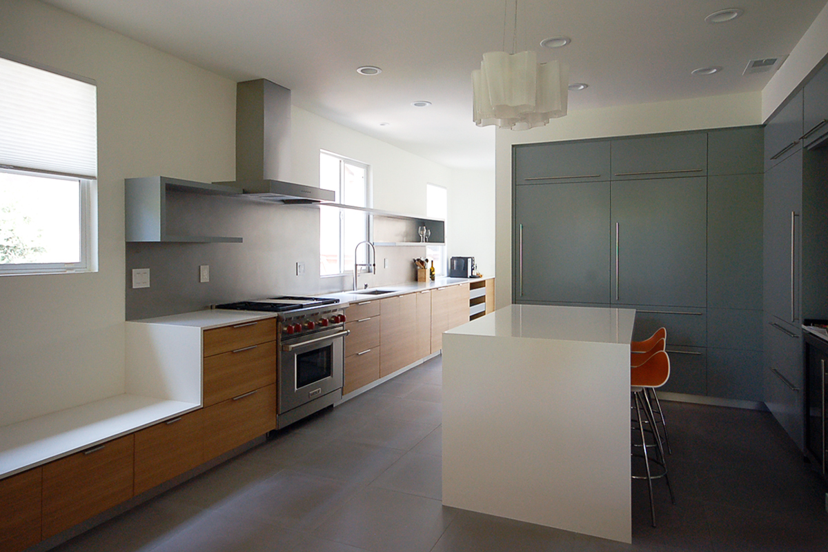 modern kitchen renovation in mission viejo, california