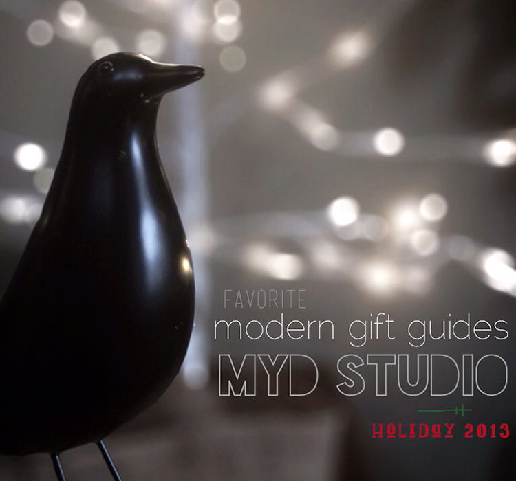 Favorite Modern Design Gifts  |  MYD studio  architecture + interiors