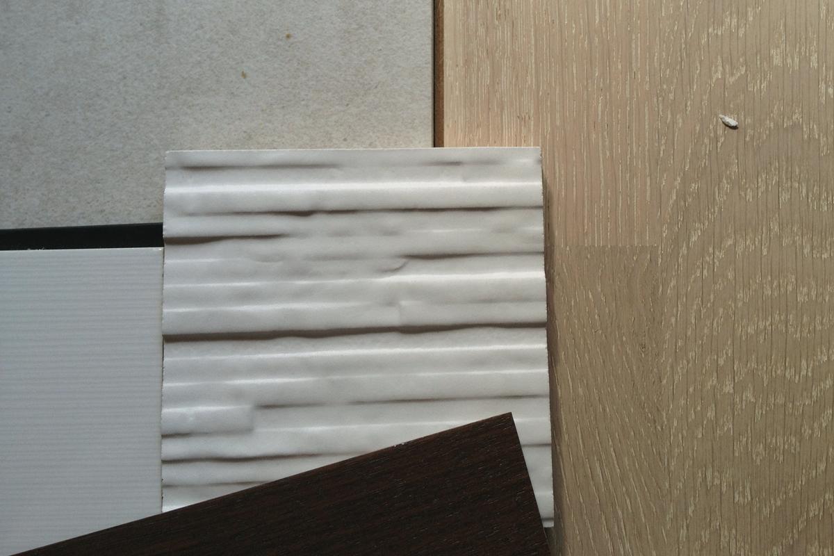 modern material palette