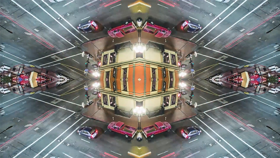 multi-dimensional urban landscapes: Mirror City on vimeo